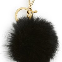 MICHAEL Michael Kors 'XL' Genuine Fox Fur Bag Charm | Nordstrom