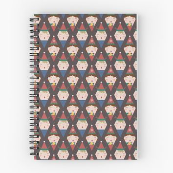 'a Christmas Carol' Spiral Notebook by lalainelim