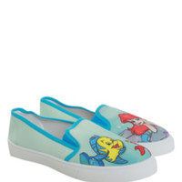 Disney The Little Mermaid Ariel Slip-On Sneakers