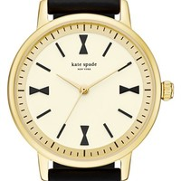 kate spade new york 'crosby' silicone strap watch, 34mm | Nordstrom