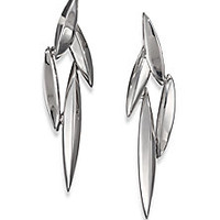 Alexis Bittar Fine - Velvet Marquis Sterling Silver Cluster Clip-On Earrings - Saks Fifth Avenue Mobile