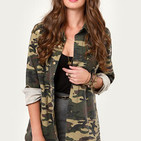 In the Charm-y Now Studded Camo Jacket