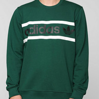 adidas Heritage Logo Pullover Sweatshirt - Urban Outfitters