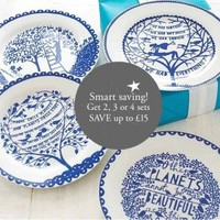 Rob Ryan Four Seasons plates