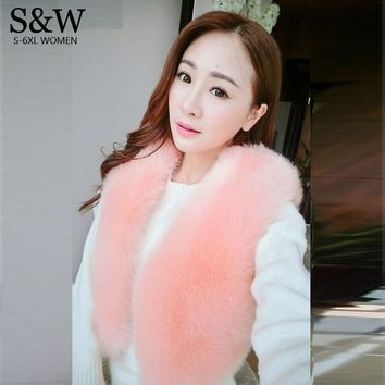 2016 Autumn and Winter Women Faux Fur Vest Gilet Artificial Rabbit Fur Vest Women Pink Fur Coat Fox Fur Jacket Waistcoat