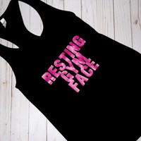 Resting Gym Face | Unisex | Tank Top