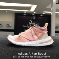 Adidas Arkyn W Green Women Pink White Boost Sport Running Shoes - BB7585