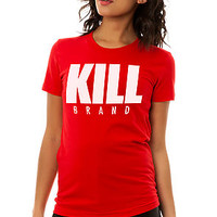 The Kill Swag Logo Tee in Red