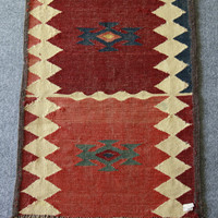 Handmade Vintage Afghan Rug Jedan | Style and Decor
