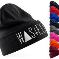 Wasted beanie hat
