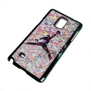 air jordan paint for samsung galaxy note 5 case