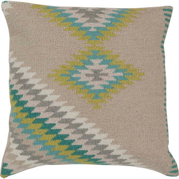 Beth Lacefield Kilim Tranquil Tribal Decorative Pillow - Home Decor | Surya