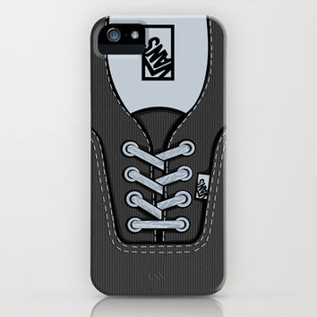 Black Gray Vans shoes apple iPhone 3, 4 4s, 5 5s 5c, iPod & samsung galaxy s4 case cover
