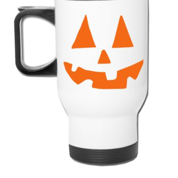 Pumpkin Clipart  - Travel Mug