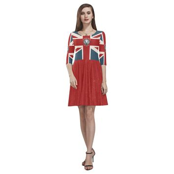 Women's NFA The Original Union Jack Skater Dress - Free Shipping - Limited Edition