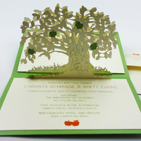 "Pop-up cards ""apple tree"""