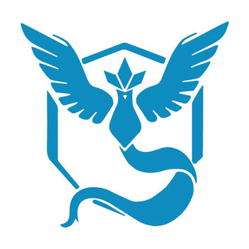 Pokemon Go Team Mystic Die Cut Vinyl Decal Sticker