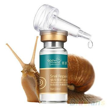 10ml Whitening Blemish Serum Anti-Acne Rejuvenated Snail Hyaluronic Acid Liquid 4E1M