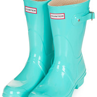 HUNTER Short Gloss Wellies - Boots - Shoes - Topshop USA