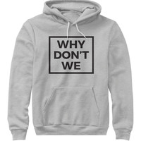 Why Don't We Hoodie Merch