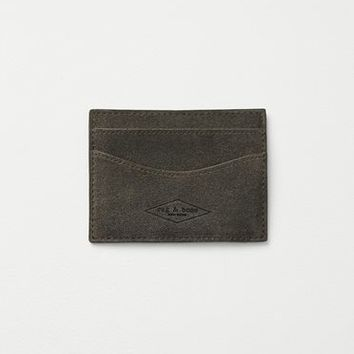 Rag & Bone - Hampshire Card Case, Smoke Size 1