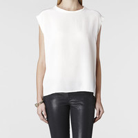 Womens Brooke Top (Chalk) | ALLSAINTS.com