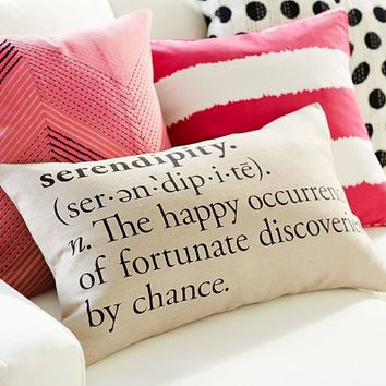 SERENDIPITY LUMBAR PILLOW COVER