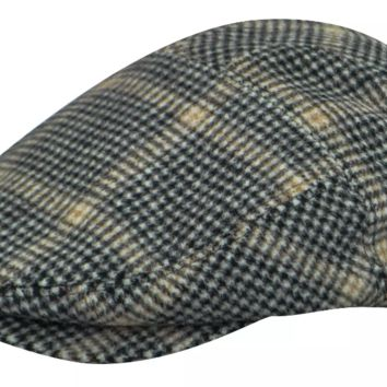 Bailey Smit Wool Blend Houndstooth 5-panel Cap