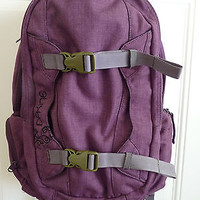 Dakine Womens Mission 25L Backpack MULBERRY Purple Skate Snowboarding OOP EUC
