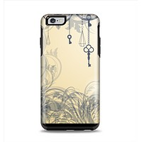 The Vintage Hanging Clocks and Keys Apple iPhone 6 Plus Otterbox Symmetry Case Skin Set