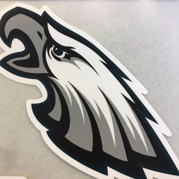 PHILADELPHIA EAGLES COLOR LOGO CAR WINDOW DECAL GREAT HOLIDAY GIFT SHIP