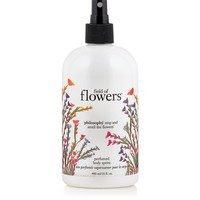 field of flowers | perfumed body spritz | philosophy body spritz