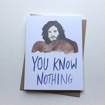 AVERY CAMPBELL YOU KNOW NOTHING
