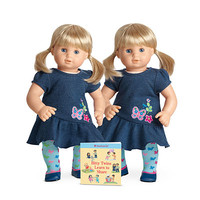 American Girl® Dolls: F5037 - Light skin, blond hair girls