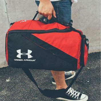 Kalete Under Armour Fashion Women Men Leisure Travel Sport Bag Luggage Tote Handbag Basketball Bag Backpack