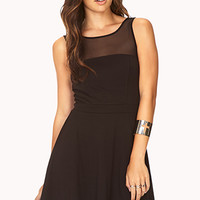 Forever Cool Fit & Flare Dress