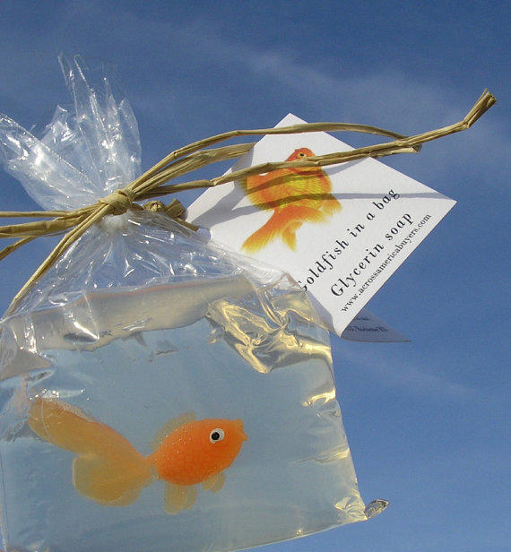 Fish in a bag novelty soap vegan friendly from for Fish in a bag soap