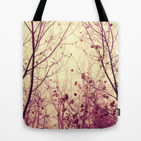 trees - my secret garden Tote Bag by ingz
