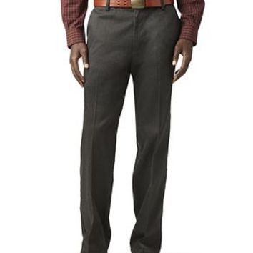 Dockers Signature Khaki Pants, Straight Fit - Dyer Herringbone, Black - Men's