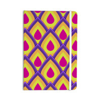 "Roberlan ""Pineapple"" Pink Yellow Everything Notebook"