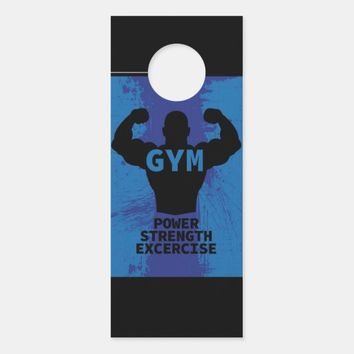 Gym Door Hanger