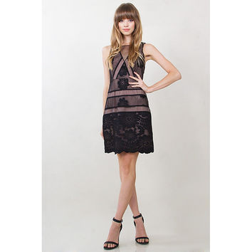 Skivvies Embroidered Dress