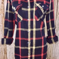 Made for Plaid Tunic