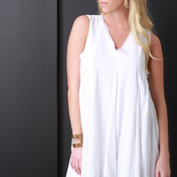 Lightweight Flowy Shift Dress