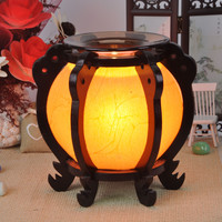 Household Adornment essence oil lamp wooden Chinese wind restoring ancient ways fragrance Lamp