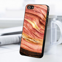 Wood Pattern Print iPhone 5 Or 5S Case
