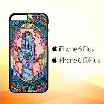 Hand Mandala Singleton Hippie X0147 iPhone 6 Plus|6S Plus Case