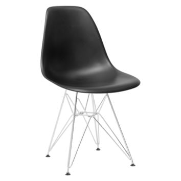Padget Side Chair in Black