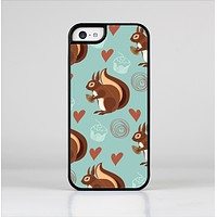 The Vector Love & Nuts Squirrel Skin-Sert for the Apple iPhone 5c Skin-Sert Case