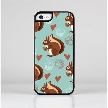 The Vector Love & Nuts Squirrel Skin-Sert Case for the Apple iPhone 5c